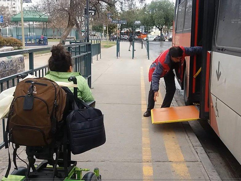 Transantiago Hacia Un Transporte M S Accesible