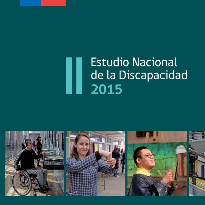 portada estadísticas segundo estudio discapacidad 2015