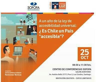Flyer Seminario Es Chile un país accesible