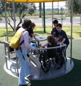 REPLICAR PARQUES INFANTILES TOTALMENTE ACCESIBLES E INCLUSIVOS EN TODO EL PAÍS