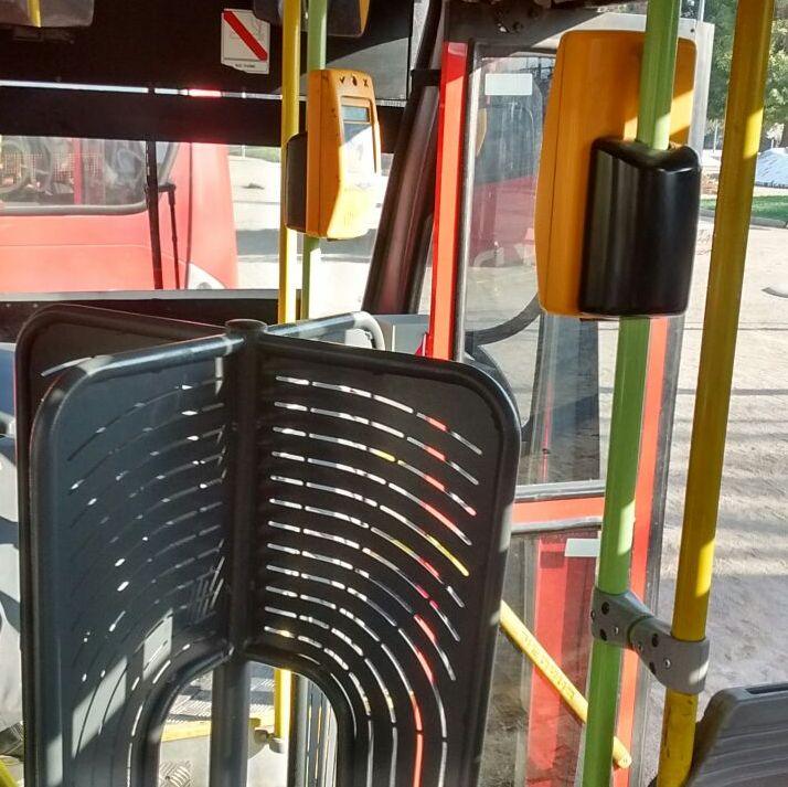 Torniquete en bus de transantiago