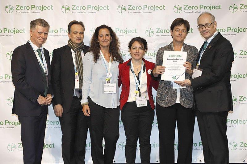 Premiación Zero Project 2018