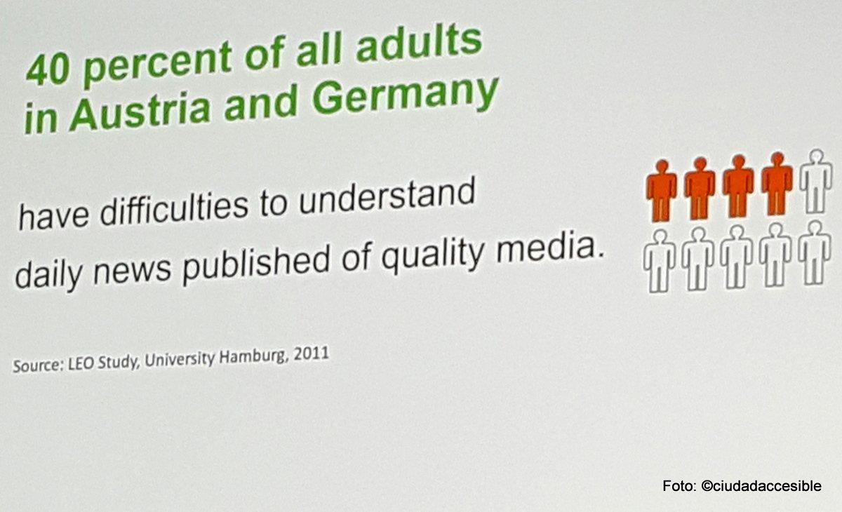 40 por ciento de los adultos en Austria y Alemania tiene dificultades de comprensión de las noticias escritas en los medios