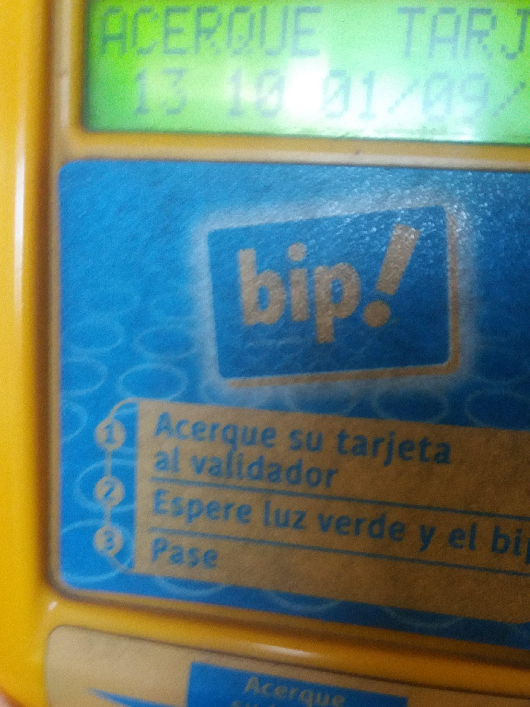 Imagen de visor con muy poco contraste usado actualmente en Chile