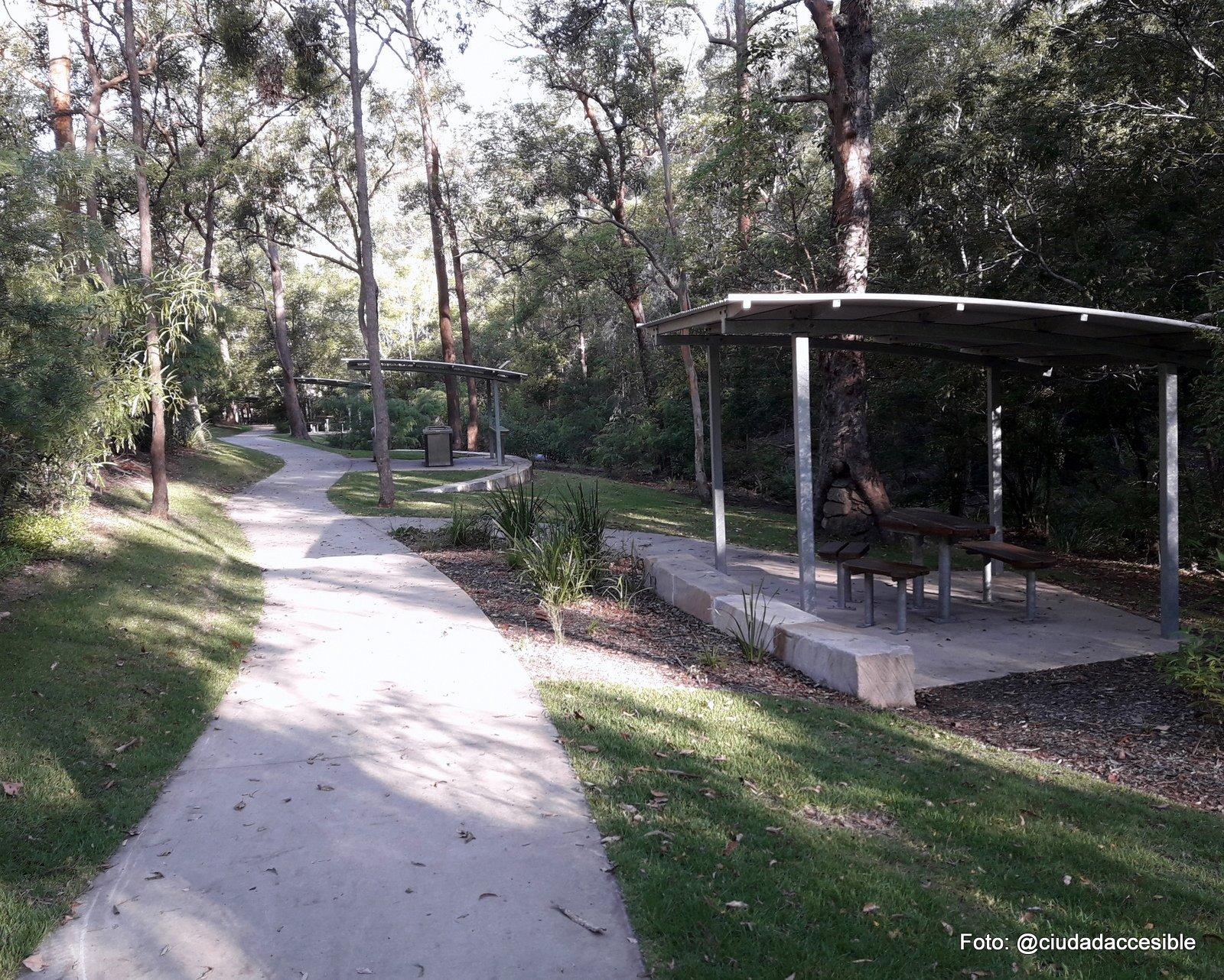 Área de picnic en Parque Mount Coo-tha Brisbane