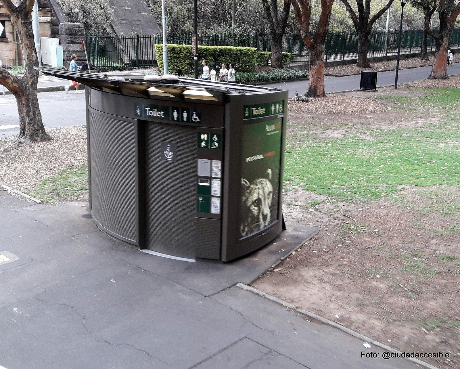 Baño público auto limpiante en Sydney