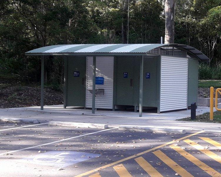 Baño público en Parque Mount Coo-tha Brisbane