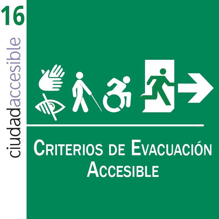 carátula Ficha 16 criterios de evacuación accesible