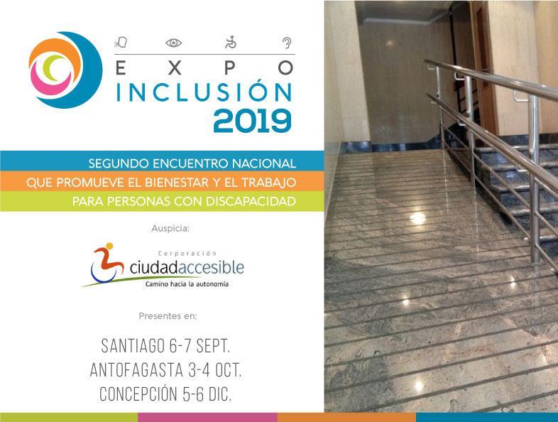 ciudad-accesible auspiciador expoinclusión 2019