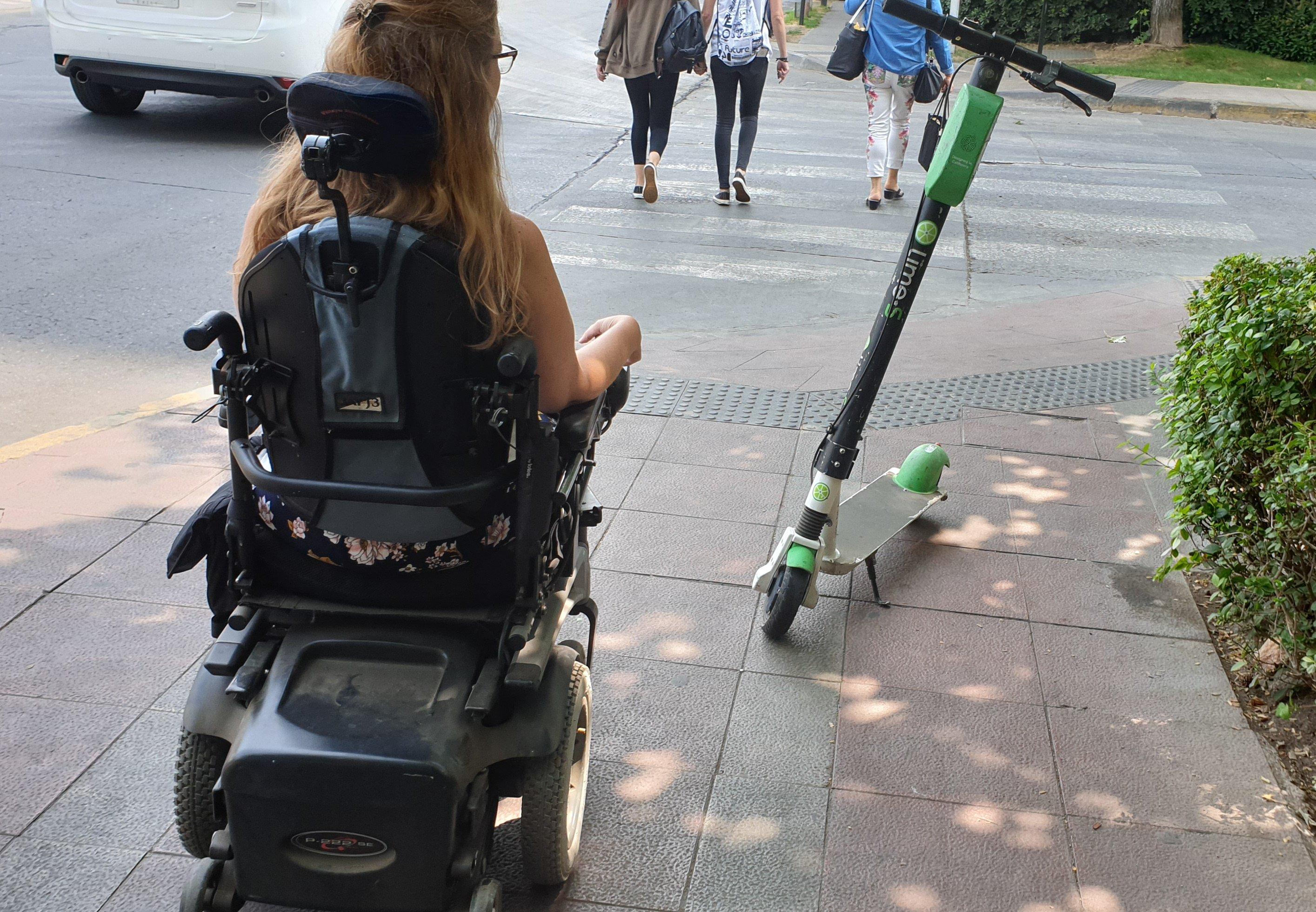 Micro-movilidad compartida y discapacidad