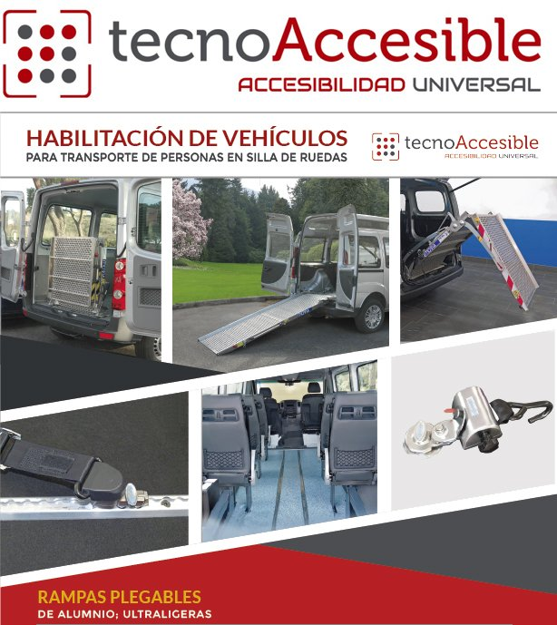 Logo y flyer TecnoAccesible