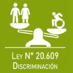 ícono ley discriminación